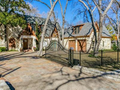 Dallas County Single Family Home For Sale: 4119 Shorecrest Drive