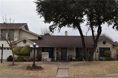 North Richland Hills Single Family Home For Sale: 4920 Harrell Street