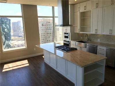 Dallas  Residential Lease For Lease: 2400 Thomas #PH4