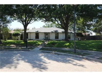 Garland Single Family Home Active Option Contract: 4513 Burdock Drive