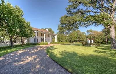 Fort Worth Single Family Home Active Option Contract: 5800 Merrymount Road