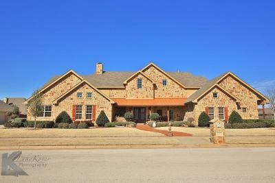 Abilene Single Family Home Active Option Contract: 2326 Biltmore Court