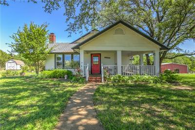 Erath County Single Family Home Active Contingent: 6624 County Road 218