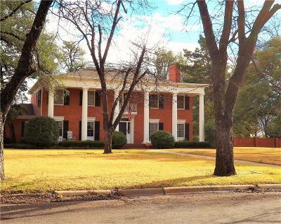 Brownwood Single Family Home For Sale: 2110 Belmeade Street