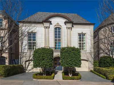 Dallas Single Family Home For Sale: 3901 Turtle Creek Boulevard #9