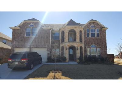 Denton Single Family Home For Sale: 4000 Autumn Path Road