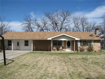 Gustine TX Single Family Home For Sale: $89,900