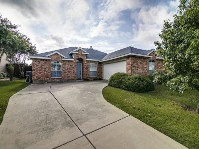 Sachse Single Family Home Active Option Contract: 3560 Leigh Court