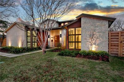 Dallas TX Single Family Home For Sale: $2,149,000