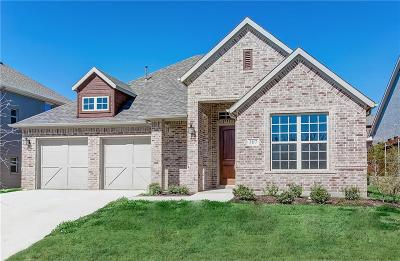 Single Family Home Active Kick Out: 307 Bluestem Lane