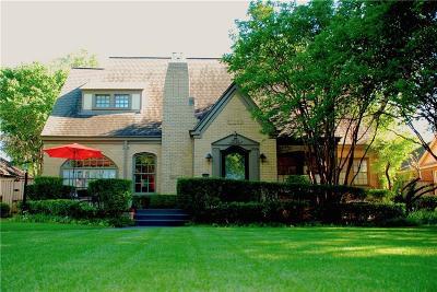 Single Family Home For Sale: 3715 Mockingbird Lane
