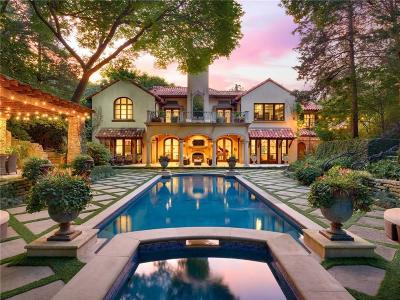 Dallas Single Family Home For Sale: 4612 Watauga Road