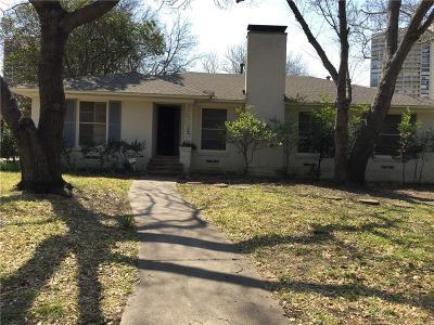 Dallas Single Family Home For Sale: 6230 Del Norte Lane