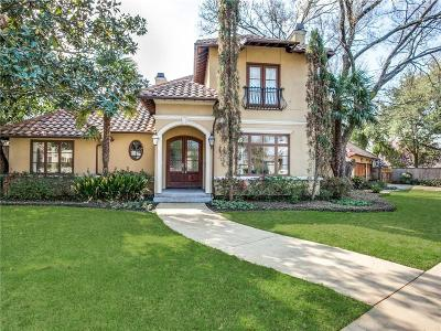 Linwood Place Single Family Home For Sale: 4700 W Hanover Avenue