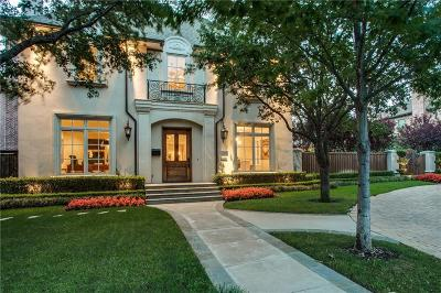 Dallas, Highland Park, University Park Single Family Home For Sale: 3424 Stanford Avenue