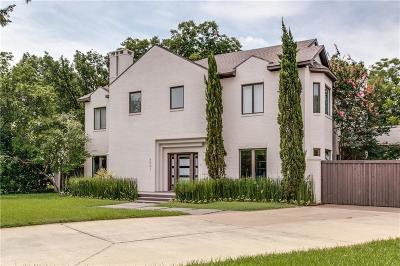 University Park Single Family Home For Sale: 4041 Druid Lane