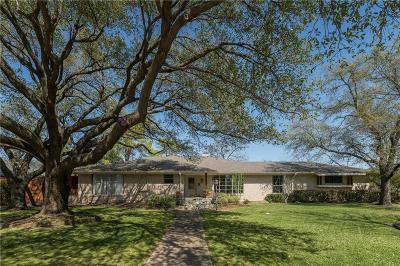 Dallas Single Family Home For Sale: 4527 Goodfellow Drive