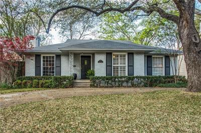 Single Family Home For Sale: 3316 Lovers Lane