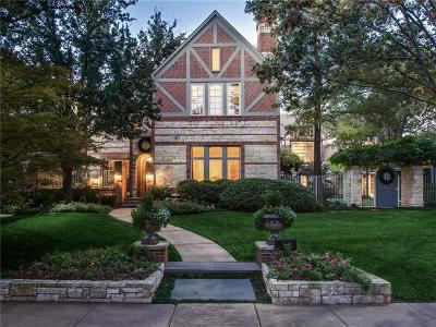 Dallas, Highland Park, University Park Single Family Home For Sale: 4332 Potomac Avenue