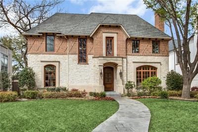 Dallas, Highland Park, University Park Single Family Home For Sale: 3408 Wentwood Drive
