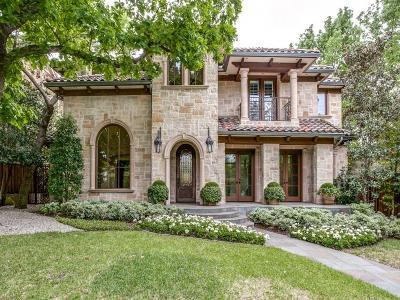 Dallas County Single Family Home For Sale: 3707 Princeton Avenue