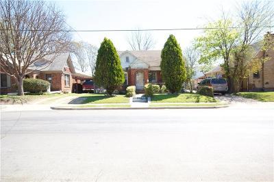 Dallas Single Family Home For Sale: 4606 Capitol Avenue