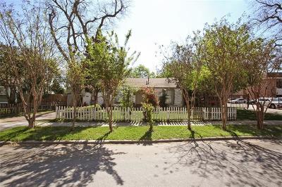 Dallas Single Family Home For Sale: 7630 Culcourt Street