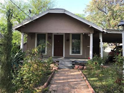 Dallas Single Family Home For Sale: 935 W 8th Street