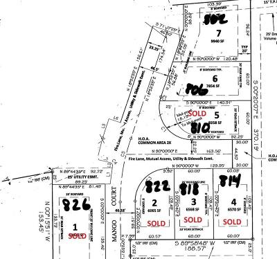 Residential Lots & Land For Sale: 806 Mango Ct Court