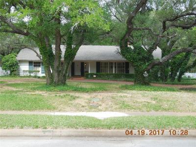 Eastland Single Family Home For Sale: 307 S Hillcrest Avenue