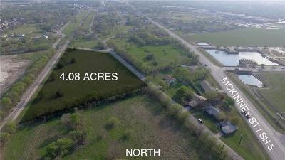 Melissa Farm & Ranch For Sale: 3220 N Park Street