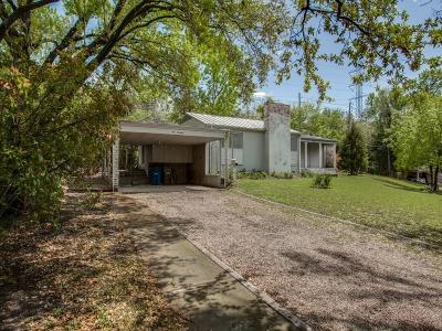 Dallas Single Family Home For Sale: 4000 Stonebridge Drive