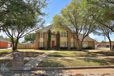 Abilene Single Family Home For Sale: 5302 Peppermill Lane