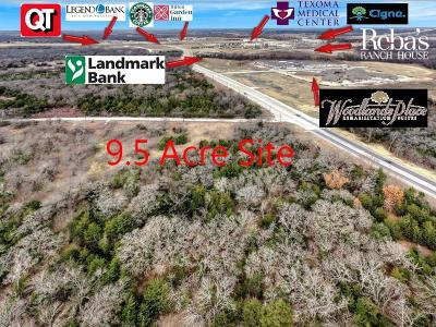 Sherman TX Commercial Lots & Land For Sale: $375,000