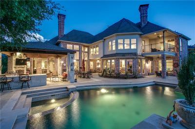 Mckinney Single Family Home Active Option Contract: 7412 Round Hill Road