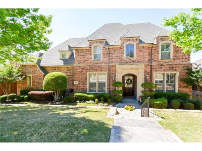 Plano Single Family Home Active Contingent: 6541 Village Springs Drive