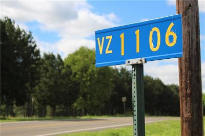 Canton Residential Lots & Land For Sale: 0000 Vz County Road 1106