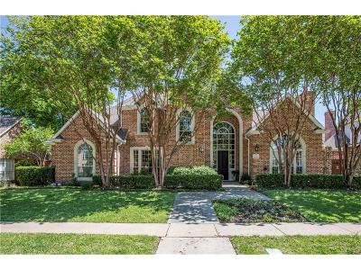 Coppell Single Family Home Active Option Contract: 136 Sand Point Court