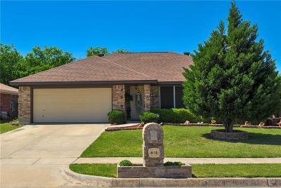 White Settlement Single Family Home For Sale: 410 S Las Vegas Trail
