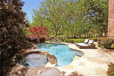 Frisco Single Family Home Active Contingent: 5023 Oak Knoll Lane