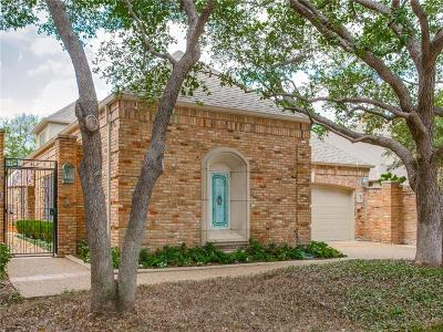 Dallas Single Family Home Active Option Contract: 13805 Creekside Place