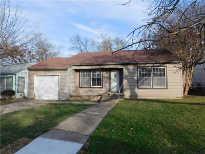 Fort Worth Single Family Home For Sale: 4537 Harwen Terrace