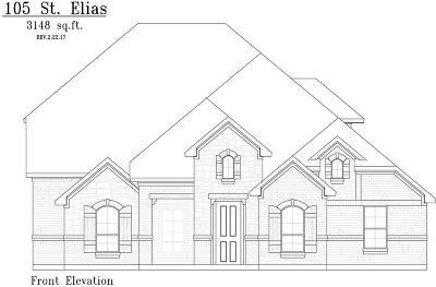 Burleson Single Family Home For Sale: 105 St Elias Drive