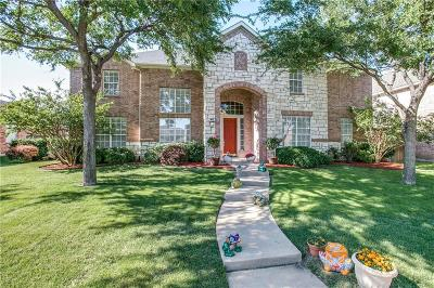 Plano Single Family Home Active Contingent: 3605 Matagorda Springs Drive