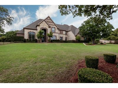 Southlake Single Family Home For Sale: 608 Clariden Ranch Road