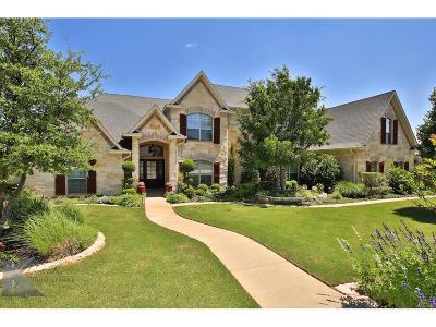 Abilene Single Family Home For Sale: 8317 Linda Vista