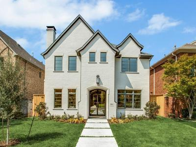 Dallas, Highland Park, University Park Single Family Home For Sale: 3832 Stanford Avenue