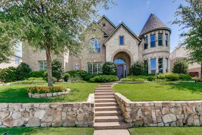 Allen Single Family Home For Sale: 1836 Walnut Springs Drive