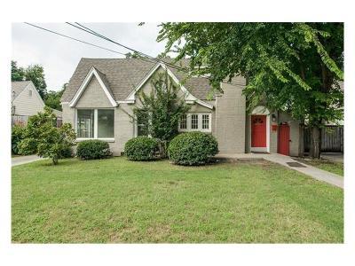 Dallas Single Family Home For Sale: 5115 Denton Drive