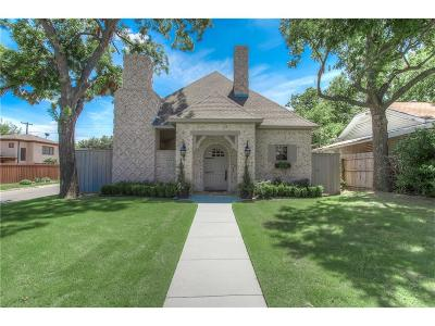Fort Worth Single Family Home For Sale: 3901 W 6th Street